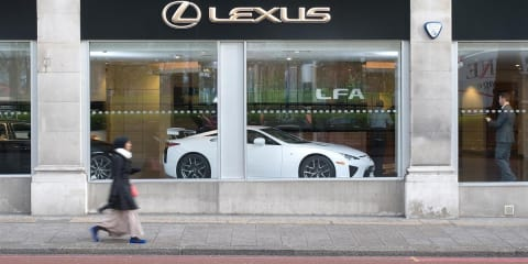 Lexus LFA for sale, not lease, in Europe