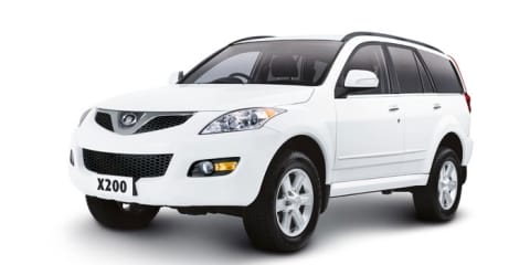 Great Wall X200 diesel on sale in Australia