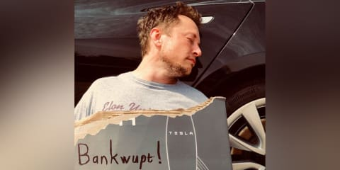 Elon Musk: Tesla was weeks from death
