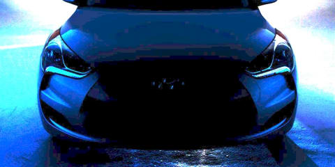 2011 Hyundai Veloster revealed in video, enhanced image
