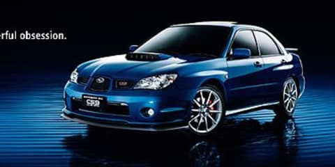 Subaru Impreza WRX Club Spec 9 Specifications
