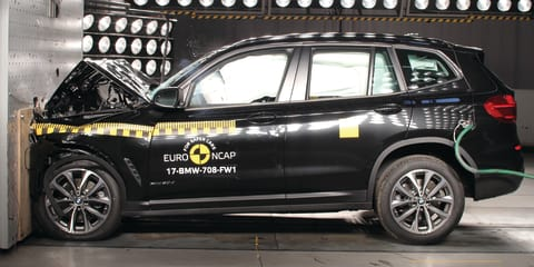 2018 BMW X3 scores five-stars ANCAP safety rating