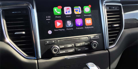 Porsche backs Apple CarPlay over Google's Android Auto for new in-car tech