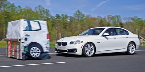 BMW, Hyundai, Mercedes-Benz top IIHS auto-brake tests