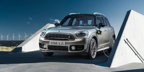 Mini Countryman PHEV on Australian radar