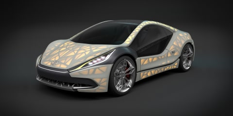 EDAG Light Cocoon concept will debut leaf-like body structure in Geneva
