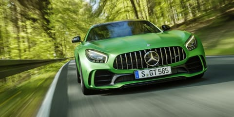 Mercedes-AMG GT R joins elite club with hot Nurburgring lap - video