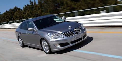 Hyundai Equus flagship launches in Korea