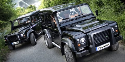 Land Rover Defender - utilitarian SUV made more luxurious by Vilner