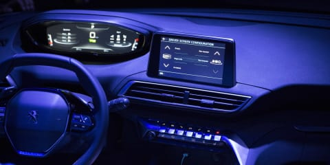 New Peugeot i-Cockpit interior technology revealed