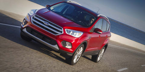 2017 Ford Kuga facelift due in Australia early next year