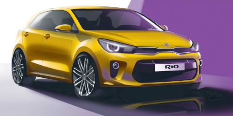 2017 Kia Rio previewed ahead of Paris debut: Australian debut set for early next year