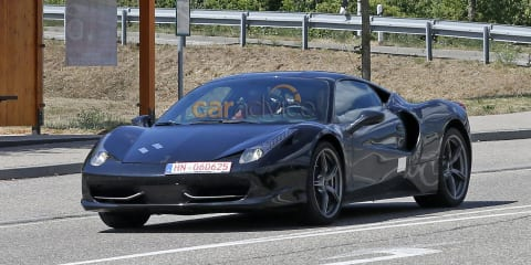 Ferrari mule could be V6-powered Dino prototype