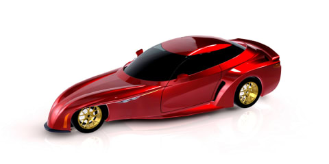 DeltaWing renders wedge-shaped road car