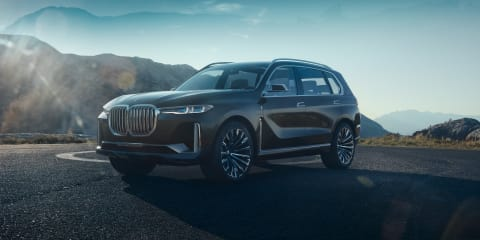 BMW Concept X7 iPerformance revealed