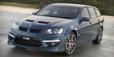 2010 HSV CLUBSPORT R8 TOURER