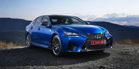 Lexus GS F launching in Australia in February