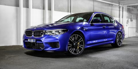 2017-18 BMW M5 recalled