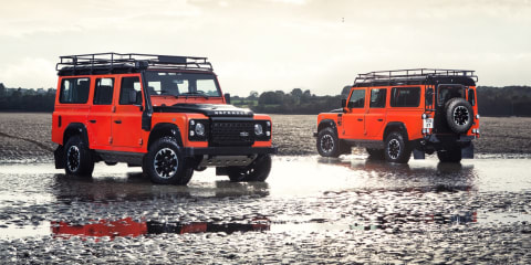 Land Rover Defender production extended to 2016