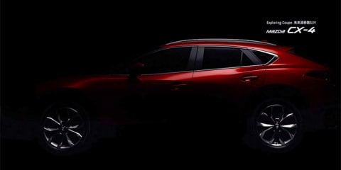2017 Mazda CX-4 teasers leaked ahead of Beijing debut