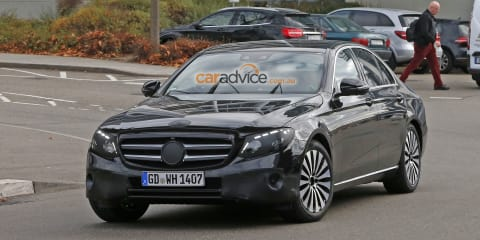 2016 Mercedes-Benz E-Class sedan spied almost disguise free
