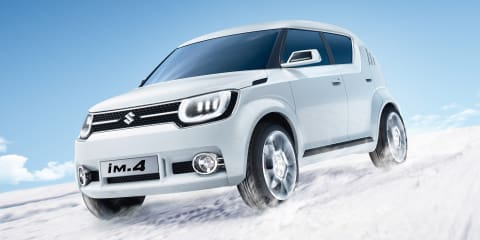 Suzuki iM-4 mini-SUV concept revealed