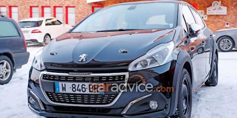 2018 Peugeot 208 mule spied