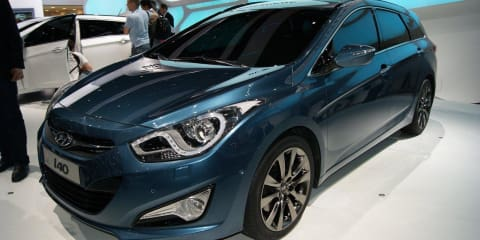 2011 Hyundai i40 unveiled at Geneva