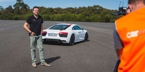 The CarAdvice Winners Circle 2018, Paul Maric: Audi R8 RWS