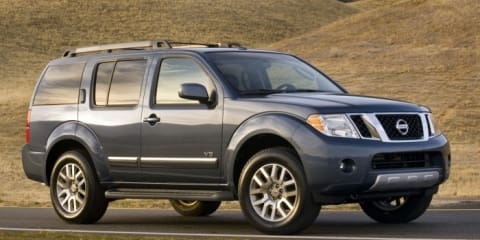 2010 Nissan Frontier, Xterra and Pathfinder recalled
