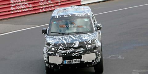 2020 Land Rover Defender spied