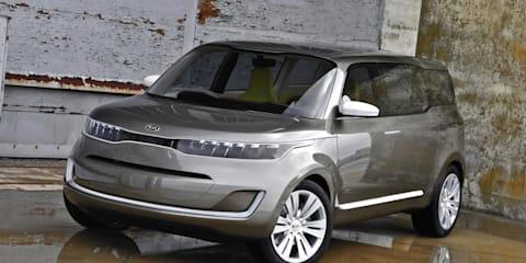 Kia KV7 Concept unveiled at Detroit Auto Show