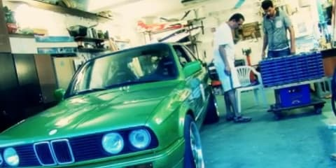 Video: BMW E30 3 Series EV with 373kW by VST Conversions