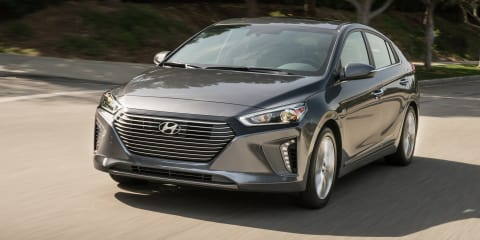 2019 Hyundai Ioniq detailed for the US