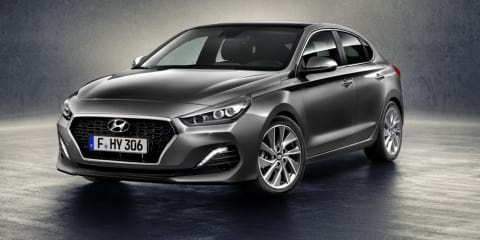 Hyundai i30 Fastback revealed, N model likely for Oz - UPDATE