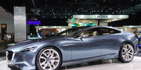 Mazda Shinari concept at LA Auto Show