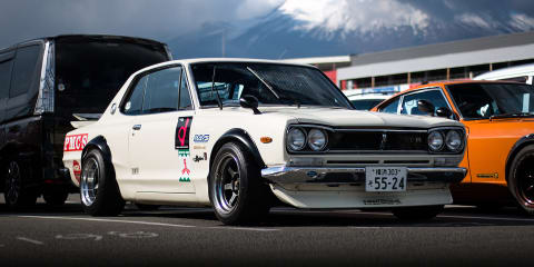 Nismo Festival 2016:: At the track and in the cold at Fuji Speedway