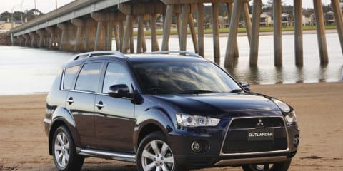 Mitsubishi Outlander gets aggressive new look