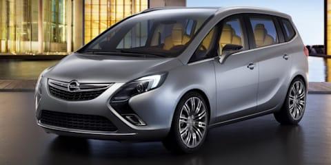 2011 Opel Zafira Tourer Concept Geneva preview