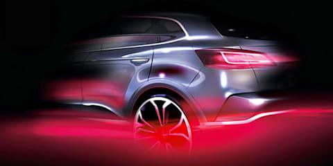 Borgward SUV previewed in new sketch ahead of Frankfurt debut