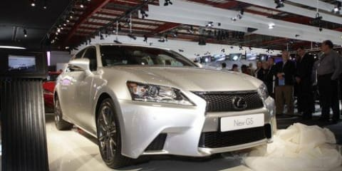 2012 Lexus GS 350 F Sport unveiled, Australian launch expected in Q2