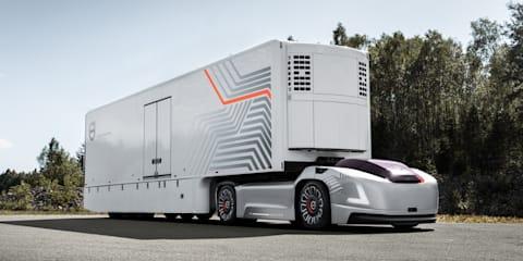 Volvo Vera autonomous truck concept has no cab