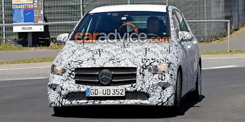 2019 Mercedes-Benz B-Class spied