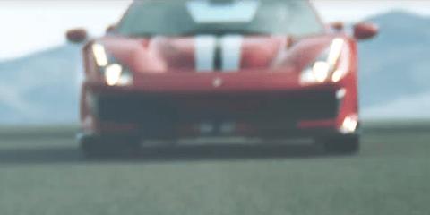 Ferrari 488 'GTO' previewed