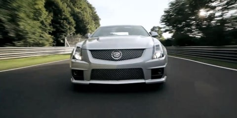 "Video: Cadillac CTS-V sedan Nurburgring ""Competition"" TVC"