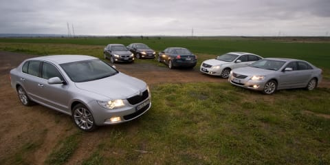 2009 Large Car Comparison