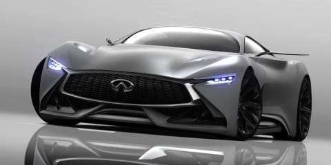 Infiniti Concept Vision Gran Turismo : V8 hybrid-powered GT car unveiled