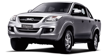 2015 JMC Vigus pricing and specifications : Chinese ute from $23,990 driveaway