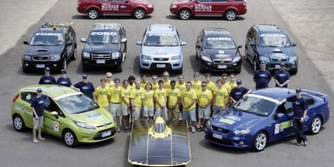 Ford Fiesta ECOnetic, Falcon XR6 meet Global Green Challenge
