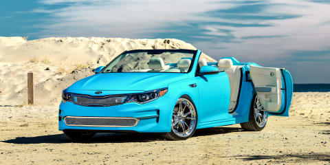 Kia Optima A1A four-door roadster concept heading to SEMA